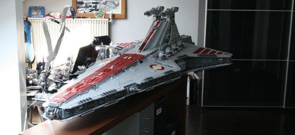 le plus grand vaisseau lego star wars