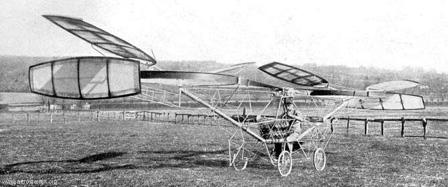 le premier hélicoptère