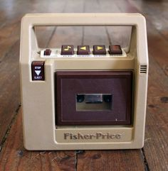 lecteur cassette fisher price