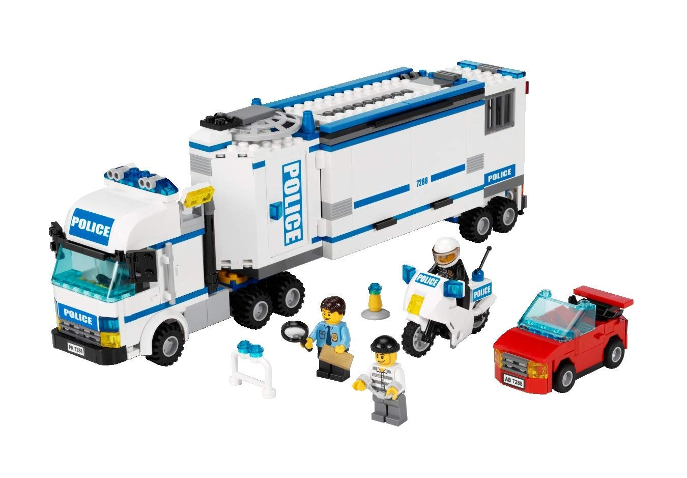 lego camion police
