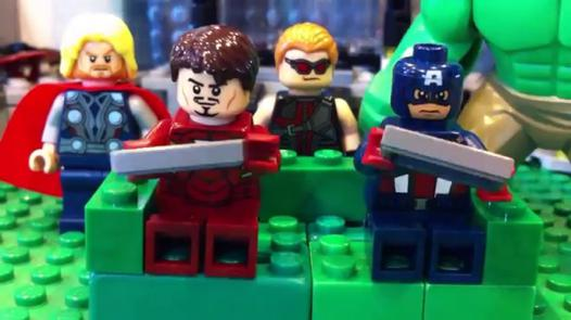 lego captain america vs iron man