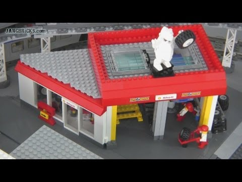 lego car shop