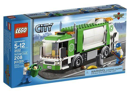 lego city camion poubelle