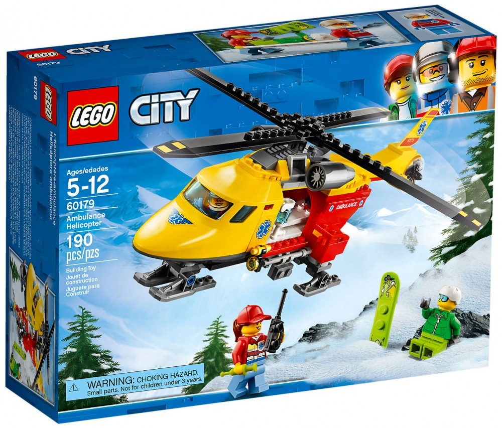 lego city hélicoptère