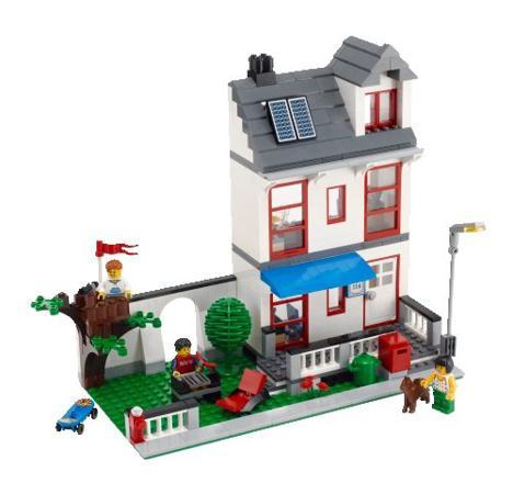 lego city maison
