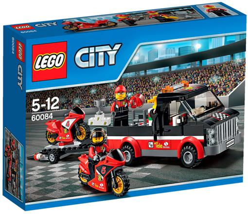 lego city transporteur moto