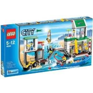 lego city yacht