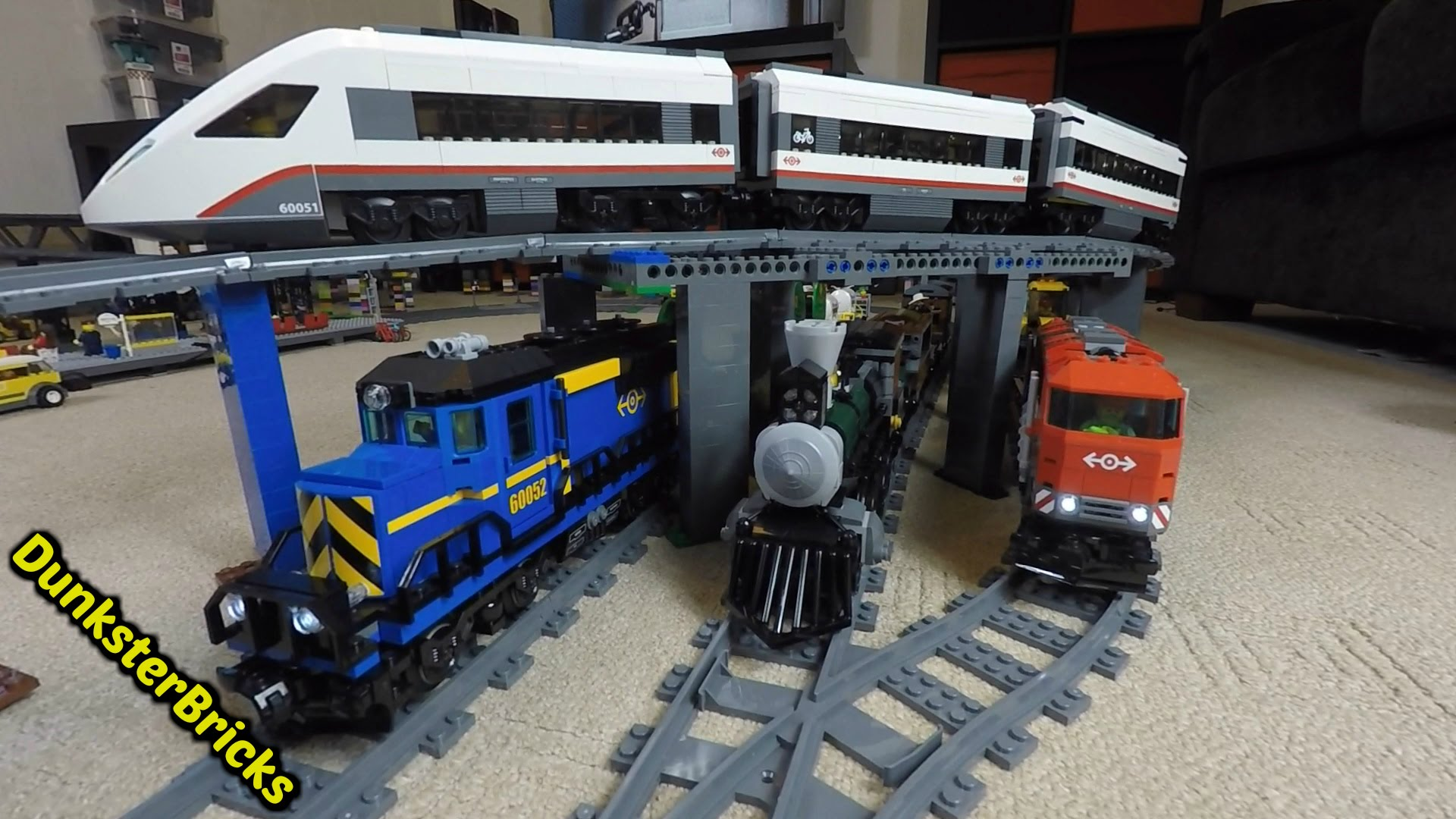 lego de train