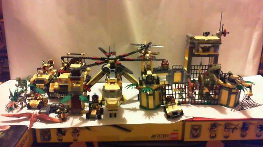 lego dino collection