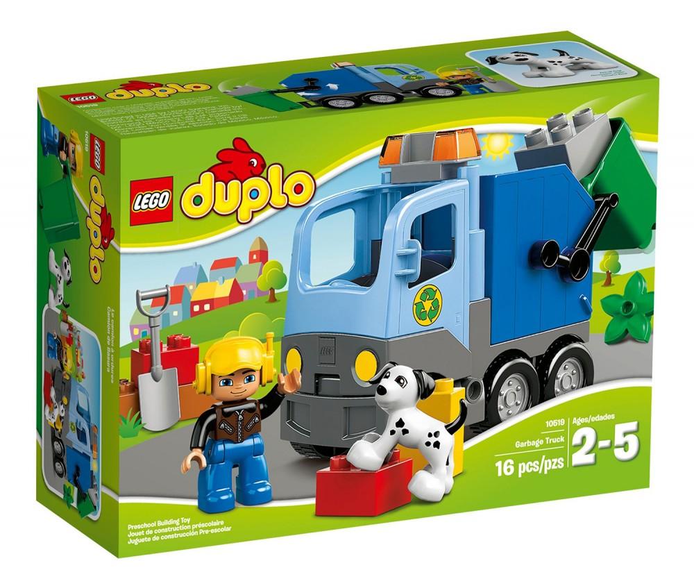 lego duplo camion poubelle