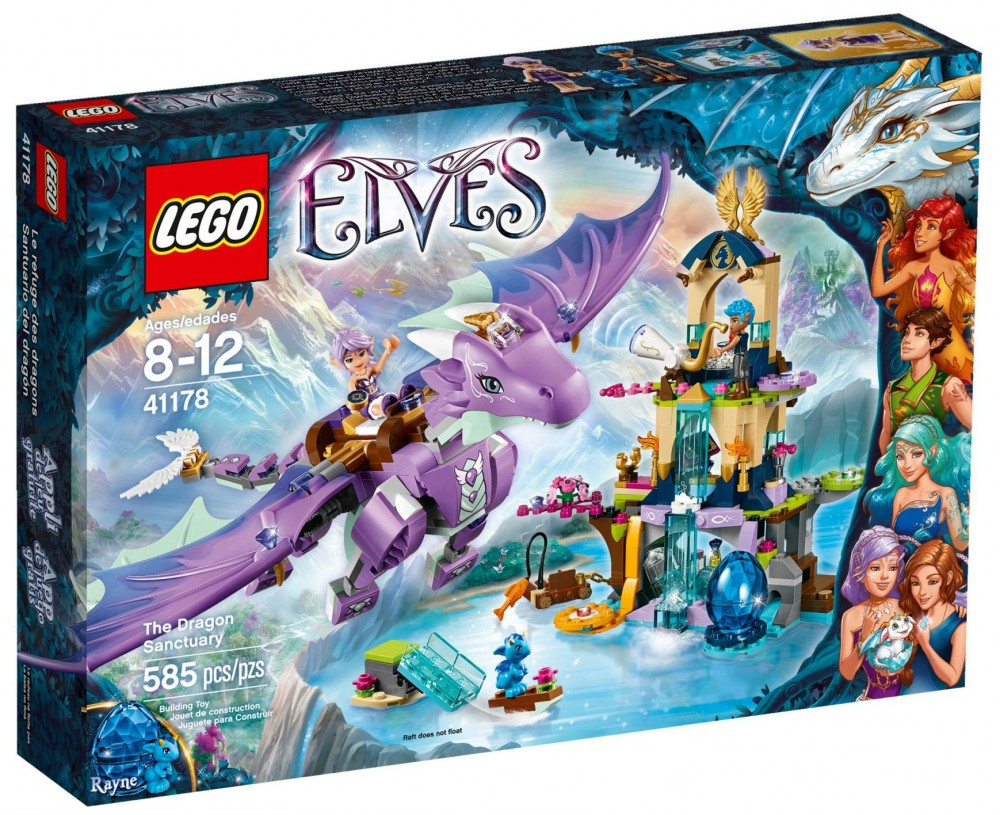 lego elves le sanctuaire du dragon