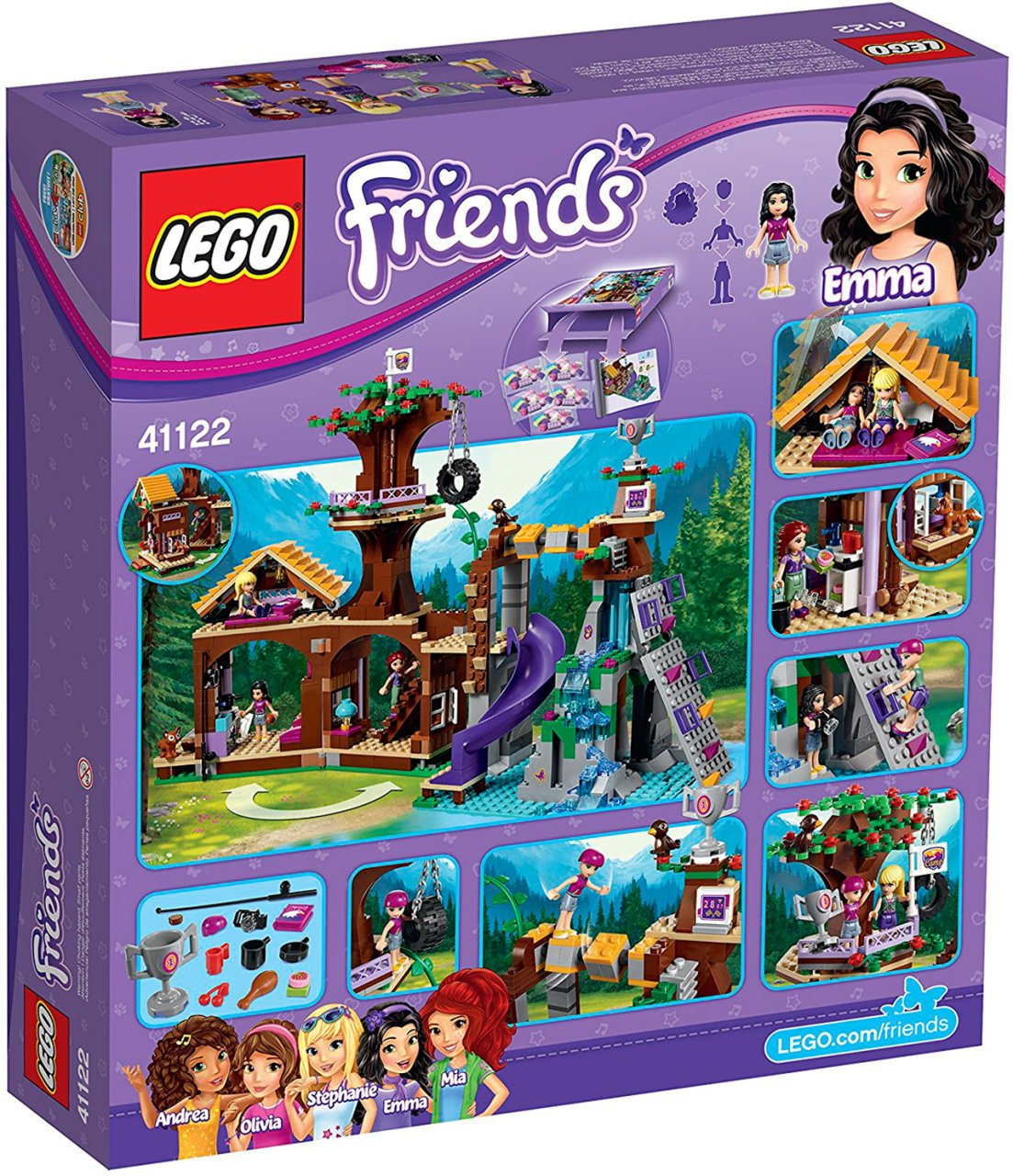 lego friends 41122