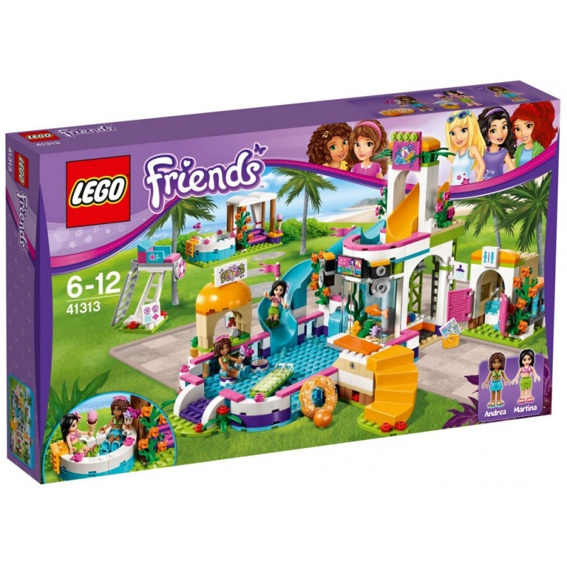 lego friends la piscine d heartlake city
