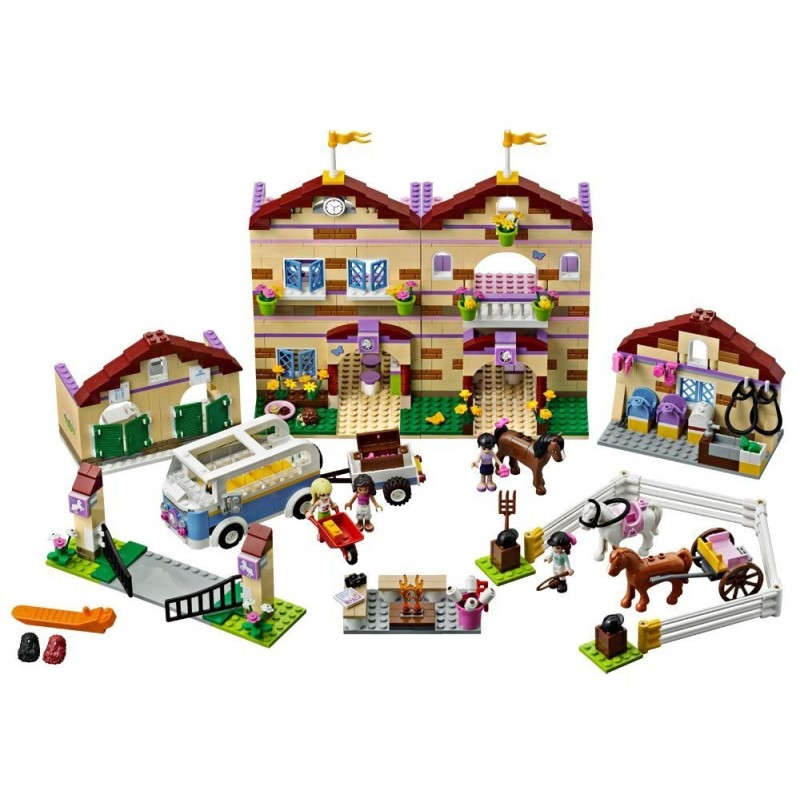 lego friends le camp d équitation