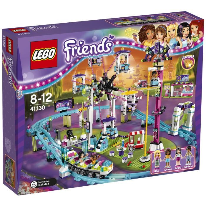lego friends montagne russe