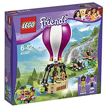 lego friends montgolfière