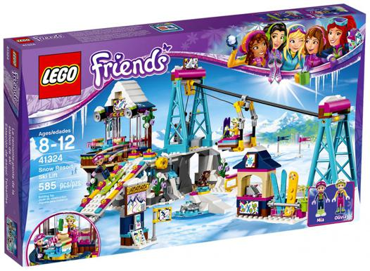 lego friends ski