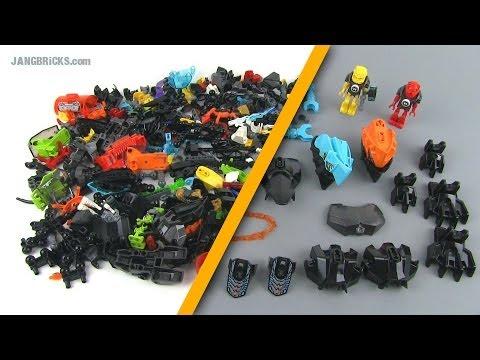 lego hero factory pieces