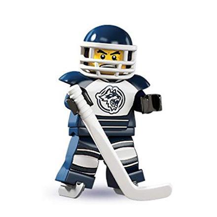 lego hockey minifigures