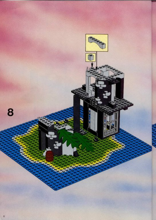 lego ile pirate