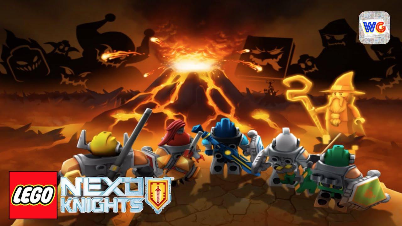 lego knight videos