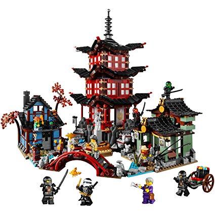 lego le temple de l airjitzu