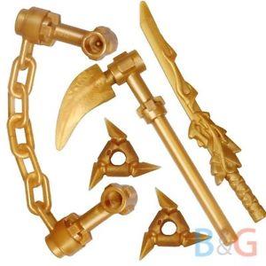lego ninjago arme d or