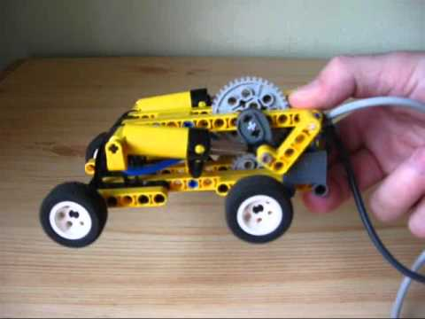 lego pneumatic car