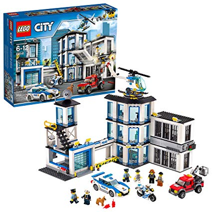 lego police station images