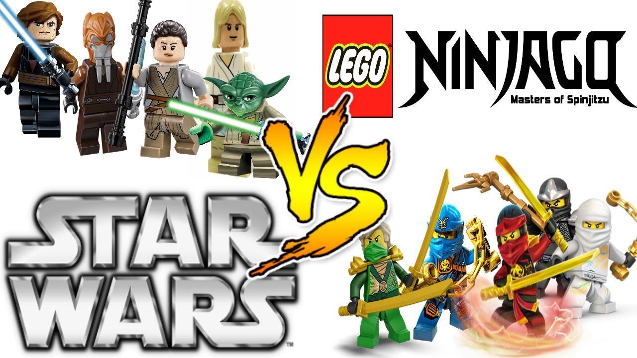 lego star wars vs lego ninjago