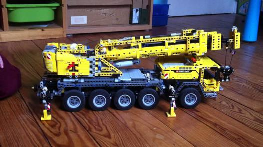 lego technic camion grue