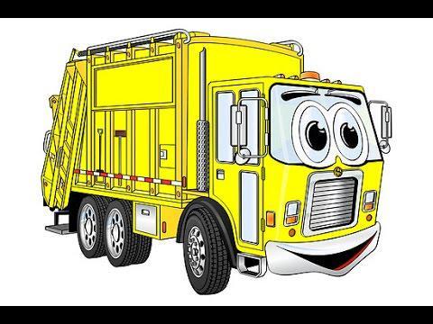 les camions poubelles