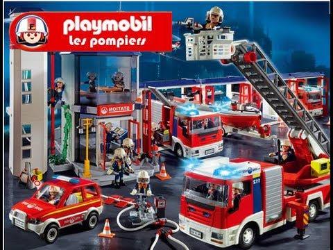 les pompiers playmobil