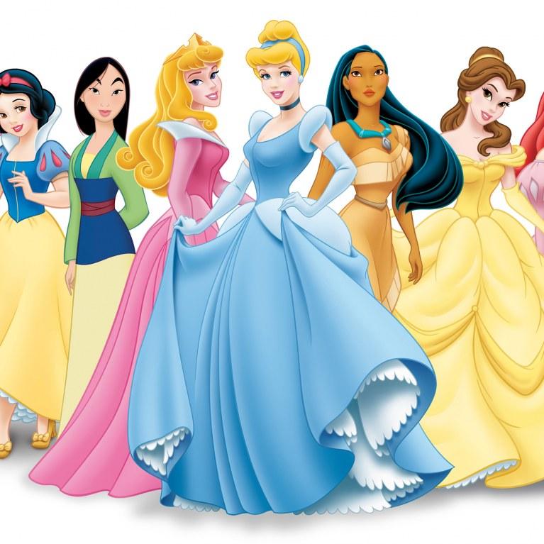 les princesse de disney