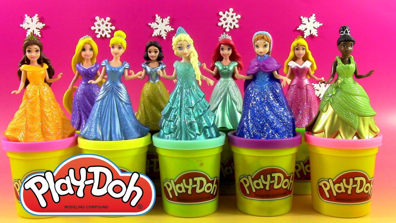 les princesses en pâte à modeler