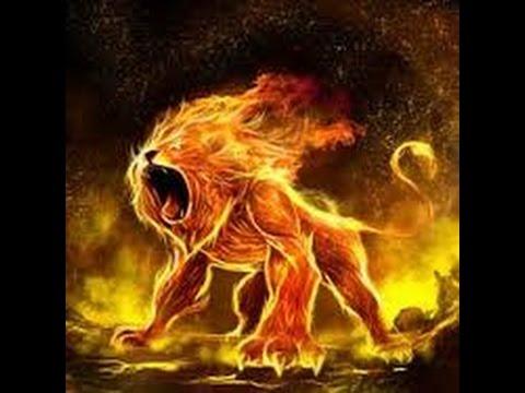lion de feu