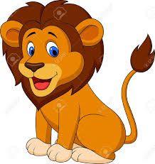 lion dessin couleur