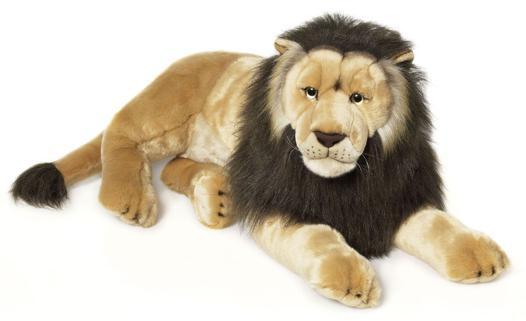 lion peluche géante