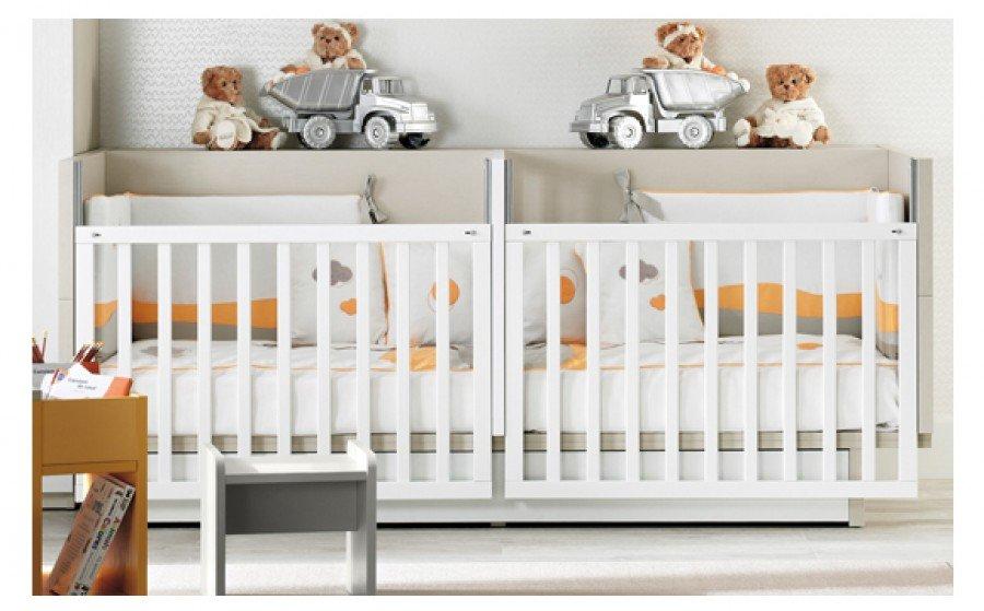 lit jumeaux bébé