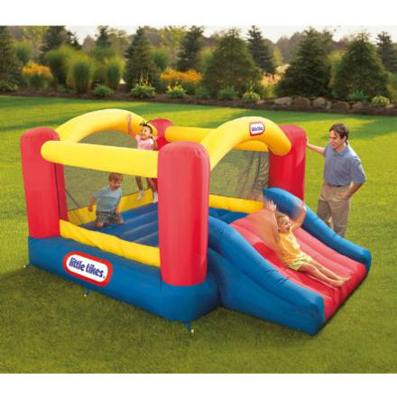 little tikes chateau gonflable