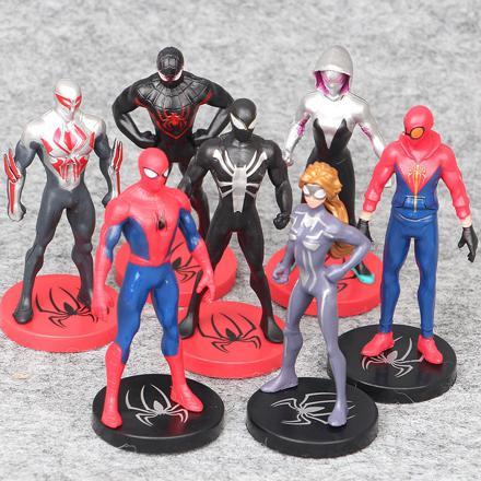 lot figurine spiderman