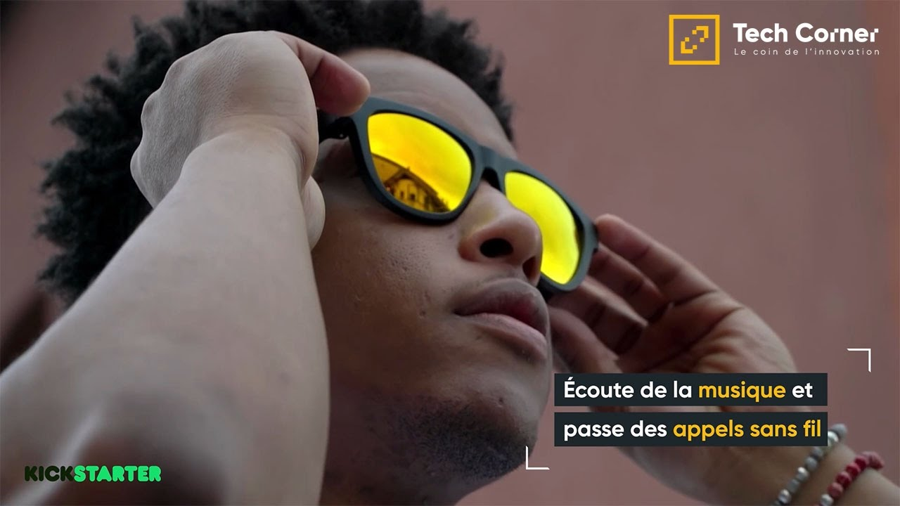 lunette ecouteur