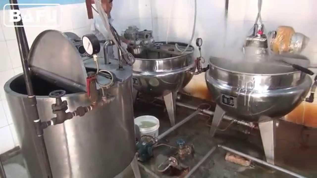 machine fabrication bonbon