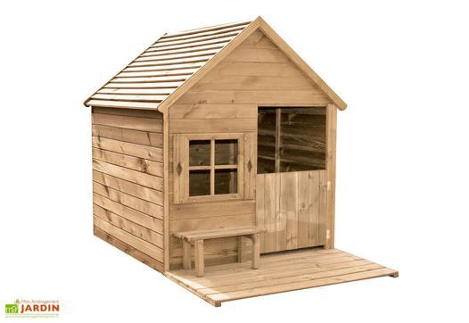 maison d enfant en bois