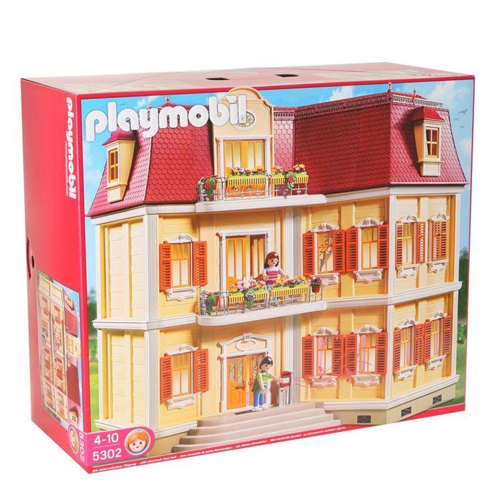 maison de playmobil ville