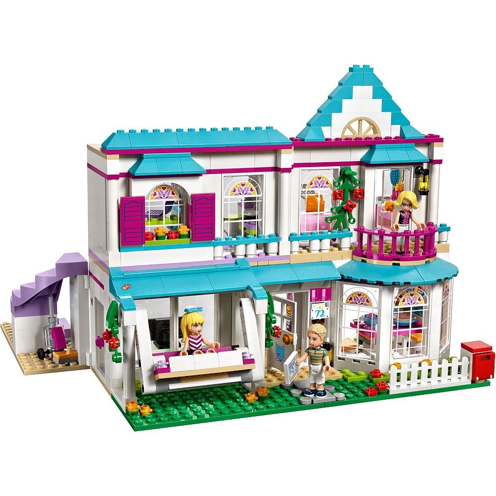 maison de stephanie lego friends