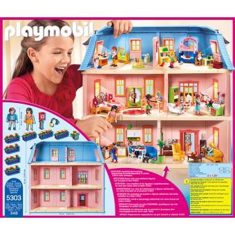 maison dollhouse playmobil