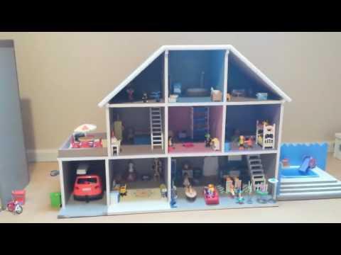 maison en bois playmobil