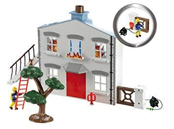 maison en feu sam le pompier