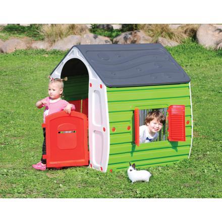 maison en plastique enfant